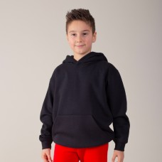KIDS HOODED 70%C30%P