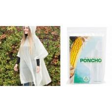 PONCHO IMPERMEABILE BIODEGRADABILE E COMPOSTABILE K18523