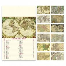 ANTICHE MAPPE - ILLUSTRATO MENSILE 12 FOGLI PA012