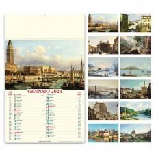 ITALIA ANTICA - ILLUSTRATO MENSILE 12 FOGLI PA014