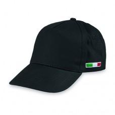 GOLF ITALY - BERRETTO 5 PANNELLI COTONE TWILL 108/58 PM102