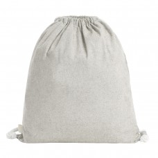DRAWSTRING BAG PLANET100%RECYC