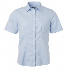 W SHIRT SL OXFORD 70%C 30%P