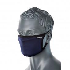 Maschera in tessuto antimicrobico a 3 strati  pz CV33