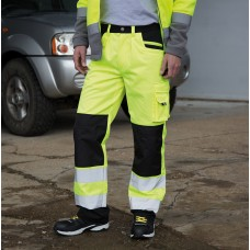 SAFETY CARGO TROUSERS 80%P20%C