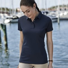 LADIES LUXURY SPORT POLO100%P