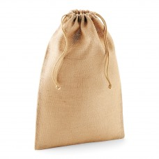 JUTE STUFF BAG 100%JUTA 14X20